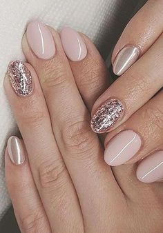 Colorful Gel Nails ideas Suitable For Summer For Well Groomed And Showy Ladies. … Colorful Gel Nails ideas Suitable For Summer For Well Groomed And Showy Ladies. …,Nailorder Colorful Gel Nails ideas Suitable For. Gold Nail Art, Rose Gold Nails, Pink Nails, Sparkle Nails, Gold Gel Nails, Gradient Nails, Cute Nails, Pretty Nails, Hair And Nails