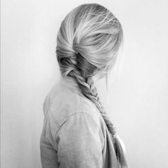 Fishtail french style