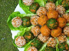 Bulgur Bällchen mit roten Linsen - vegan, glutenfrei & fettarm