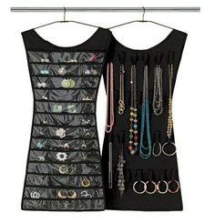 Vestido organizador de joyas