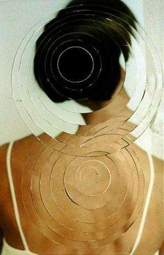 Photo collage by Jean Faucheur Art Du Collage, Mixed Media Collage, Collage Photo, Photomontage, Matthieu Bourel, Spiegel Design, Industrial Mirrors, Frida Art, Galleries In London