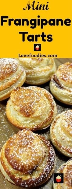 Mini Frangipane tarts are delicious almond cake filled mini tarts in a crispy puff pastry case. Delicious served warm from the oven or cooled with a blob of ice cream or fresh whipped cream! Slow Cooker Desserts, Single Serve Desserts, Desserts For A Crowd, Köstliche Desserts, Hot Fudge Cake, Hot Chocolate Fudge, Winter Desserts, Fudge Recipes, Best Dessert Recipes