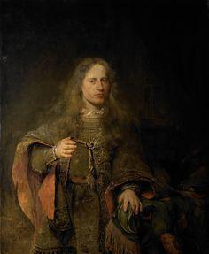 Aert de Gelder (1645–1727) - Portrait of Ernst van Beveren (1660–1722), Lord of West IJselmonde and De Linde, schepen and burgomaster of Dordrecht, 1685, oil on canvas, 128 x 105 cm. Rijksmuseum Amsterdam (2127×2592)