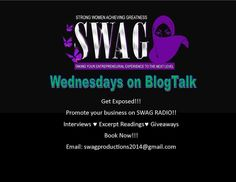 Authors... if your looking to broaden your horizons, check out SWAG! Get the exposure you've been looking for!!
