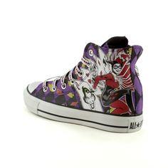 OMG I WANT!!!!  Converse All Star Hi Harley Quinn Athletic Shoe