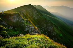 "the mountain of stara planina (literary translated: ""old mountain""), serbia"