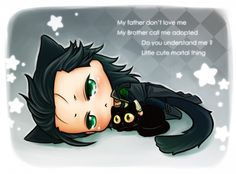 Poor little misunderstood God of Mischief. :,(