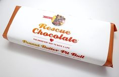 Rescue Chocolate Peanut Butter Pitbull Vegan Chocolate Bar #vegangifts #vegangiftsforher #veganbathbody #lavenderfields