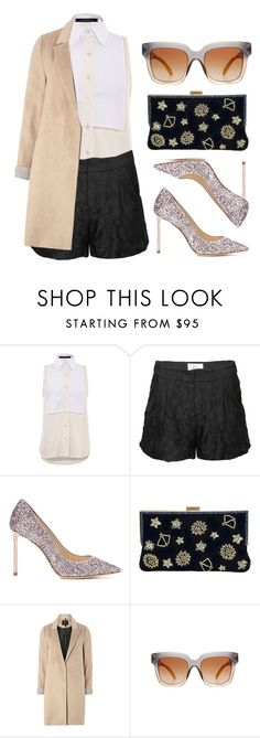 """""""Celestial"""" by cherieaustin on Polyvore featuring Timo Weiland, Milly, Jimmy Choo, La Regale, mel and Dolce&Gabbana"""