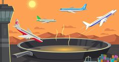 Sea walls, longer runways and lighter plane loads could add major expenses for a global industry that transports billions of passengers a year.