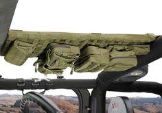 Jeep Accessory - Smittybilt Jeep Wrangler G.E.A.R. Overhead Console - TJ / LJ / JK