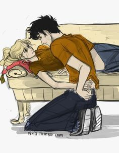 Annabeth Chase and Percy Jackson