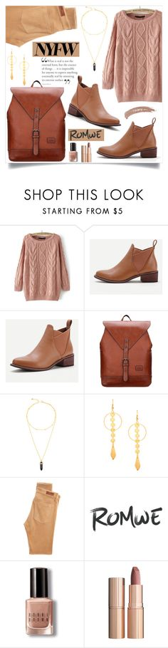 """""""What to Wear to NYFW"""" by samra-bv ❤ liked on Polyvore featuring AG Adriano Goldschmied, Bobbi Brown Cosmetics, Charlotte Tilbury and Topshop"""