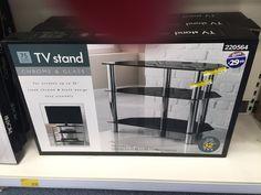 Glass TV unit (bigger one) B&M | Furniture | Pinterest | Cheap ...