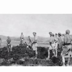 2/7th Independent - Bena Bena airstrip after Japanese attacked