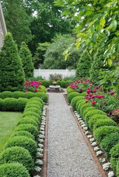 Boxwood garden - 50 New Front Yard Landscaping Design Ideas HomeBestIdea - Bo. - Boxwood garden – 50 New Front Yard Landscaping Design Ideas HomeBestIdea – Boxwood garden, F - Boxwood Garden, Garden Shrubs, Garden Paths, Boxwood Hedge, Evergreen Garden, Garden Edging, Edging Plants, Patio Plants, Small Gardens