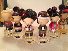 "GWEN STEFANI ""HARAJUKU LOVERS"" .33oz  MINI PERFUME BOTTLE SET #GwenStefani"