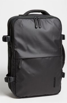 Free shipping and returns on Incase 'EO' Backpack at Nordstrom.com. A handsome backpack designed for quick overnight trips features triple-coated, weather-resistant side panels, an expandable main compartment with compression straps and a padded exterior laptop pocket with plush lining to protect your device. Adjustable, padded straps and a side handle offer versatile carrying options, while a quick-access front zip pocket adds convenience.