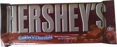Hershey's Cookies 'n' Chocolate bar