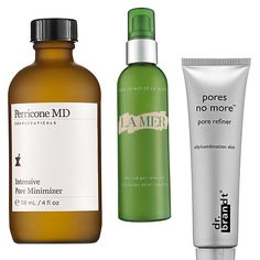 When clogged pores start to mess with your skin's sense of inner and outer calm, use today's list to help show them a more pure, minimalist and clean way of life. The most coveted pore minimizers instantly refine, correct, detox and double as serums and primers. So scroll through for ten ways to maximize your efforts on minimizing pores...