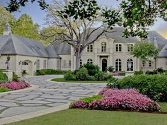 great driveway and front entry