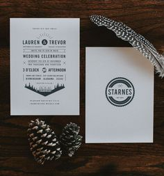Wedding Invite design inspo