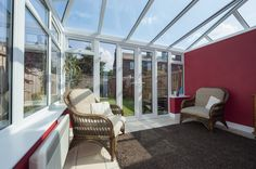 Discover our range of lean-to conservatories at Conservatory Outlet, a high quality solution perfect for enhancing the look and feel of any home. Edwardian Conservatory, Lean To Conservatory, Conservatory Ideas, Upvc Windows, Windows And Doors, Upvc French Doors, Pvc Roofing, Pergolas For Sale