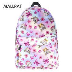 243944cf30 MALLRAT Fashion School Japan and Korean Preppy Style Rucksack Girls Cute  Style Schoolbag High Quality Backpack