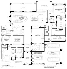 15 Elegant Luxury Walk-In Closet Ideas To Store Your Clothes In House Layout Plans, Family House Plans, Dream House Plans, House Layouts, House Floor Plans, The Plan, How To Plan, Building A Porch, Building A House