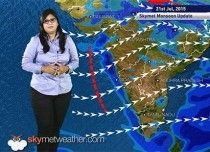 21 July, 2015 Monsoon Update: Skymet Weather  http://www.skymetweather.com/content/national-video/21-july-2015-monsoon-update-skymet-weather/