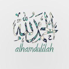 Alhumdulillah (All praise is due to Allah).