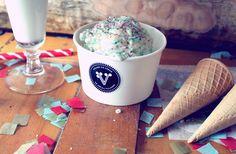 The Dessert Date Frozen Yogurt, Recipe Of The Day, Sweet Tooth, Good Food, Ice Cream, Meals, Chocolate, Dinner, Tableware