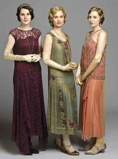 Robe années 20 en tissu indien