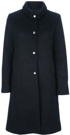 Acne 'Esta M' bonded coat on shopstyle.com