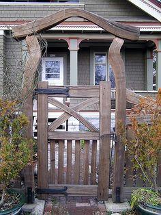 Garden Structures | Thuja Wood Art