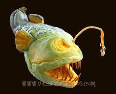 Image detail for -Ray Villafane: Pumpkin Carving 2011 — Daily Art Fixx - Art Blog ...