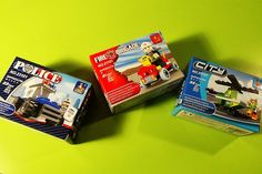 Ausini Toys Police Policeman Fire Brigade Cars Fireman City Helicopter