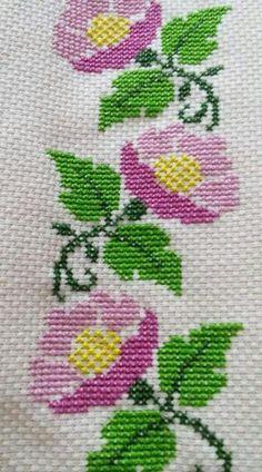 The most beautiful cross-stitch pattern - Knitting, Crochet Love Cross Stitch Letters, Cross Stitch Bookmarks, Cross Stitch Borders, Cross Stitch Rose, Cross Stitch Samplers, Cross Stitch Flowers, Modern Cross Stitch, Cross Stitching, Cross Stitch Embroidery
