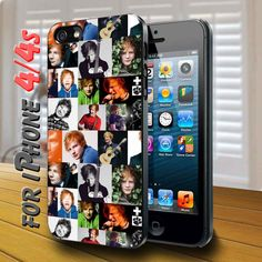 ed sheeran photo collections Black Case for iphone
