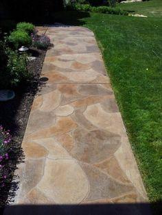 Kansas City Flagstone SidewalkFlagstone walkway with edge detail   Sparks  Landscape Concepts  . Flagstone Sidewalk Pictures. Home Design Ideas