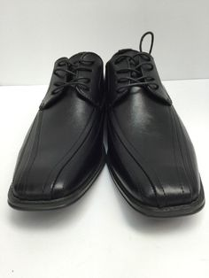 950931d77a3f Bravo! Milano-3 Black Oxford Dress Shoes Men s Leather Lining Size 10  Bravo