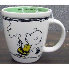 Hallmark Snoopy PAJ4419 Charlie Brown and Snoopy Kite Mug