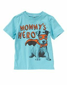 Mommy's Hero Puppy Tee {crazy 8}