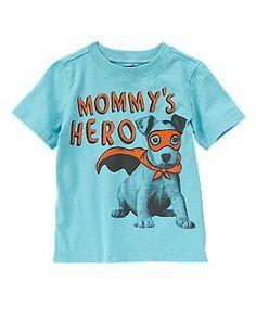 Mommy's Hero Puppy Tee {crazy 8}