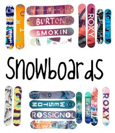 """Snowboards"" by braylie18 on Polyvore featuring interior, interiors, interior design, home, home decor, interior decorating, Weston and Rossignol"