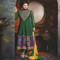 Buy online Bollywood Designer Suit Latest, Designer Salwar Kameez, Bollywood Salwar Suit, Latest Salwar Suit, Shop online latest exclusive salwar suit collection At jugniji.com/... and visit us at http://jugniji.com/latest-trend/raveena-bollywood-special/raveena-suits-2071.html