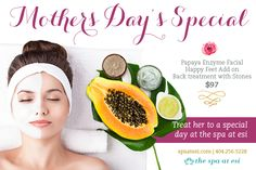 Mothers Day Spa, Spring Spa, Spa Packages, Spa Deals, Chemical Peel, Spa Services, Spa Party, Body Treatments, Natural Hair Styles