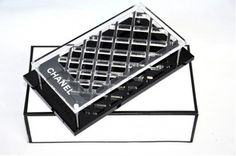 Chanel Eye Lip Stick Face Makeup Brush Storage Plate Tray Box Organizer Storage. Get the lowest price on Chanel Eye Lip Stick Face Makeup Brush Storage Plate Tray Box Organizer Storage and other fabulous designer clothing and accessories! Shop Tradesy now