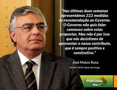 José Matos Rosa, Secretário-Geral do Partido Social Democrata, na Tomada de Posse dos Órgãos Concelhios do PSD de Sever do Vouga. 24 de abril de 2016 #PSD #acimadetudoportugal