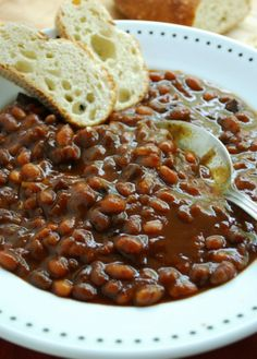 Baked beans in my slow cooker - Recipes - Everyone Can Cook - Cookbook Series and Recipes by Eric Akis